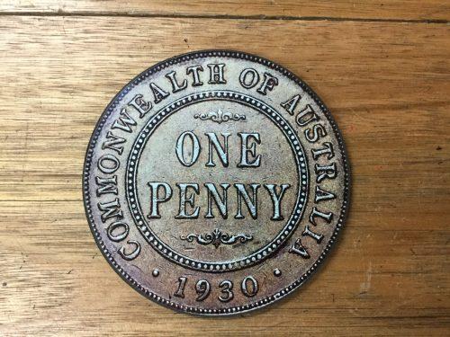 One Penny Coaster